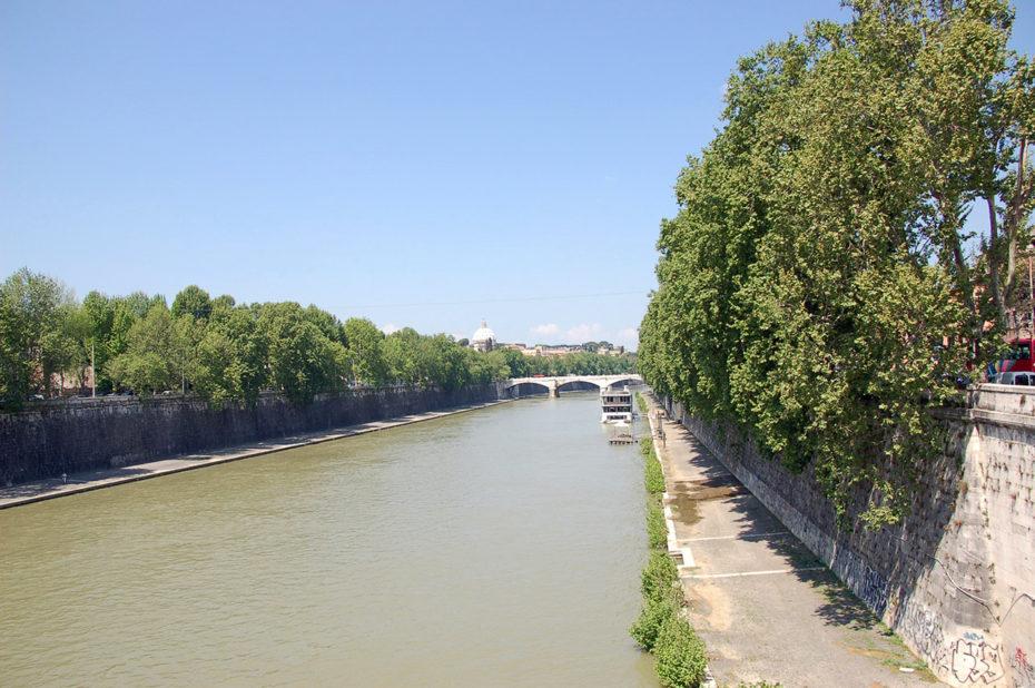 Le Tibre, fleuve qui traverse Rome