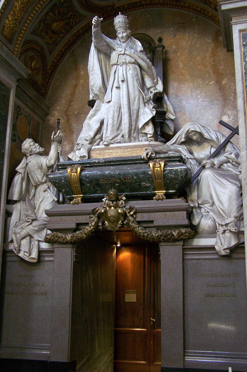 Tombeau du pape Léon XIII