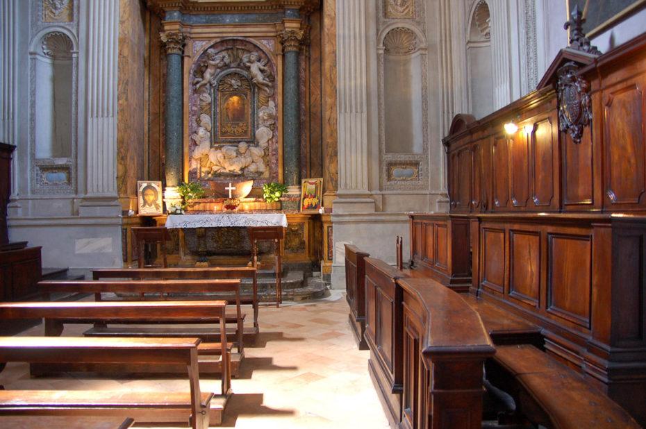 Une chapelle dans la basilique