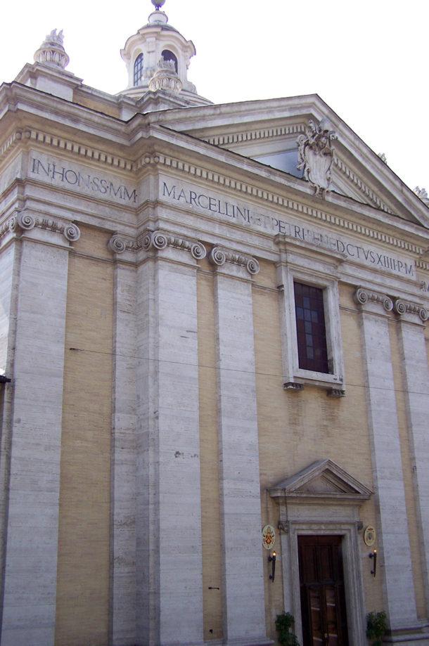 Une des nombreuses églises de Rome