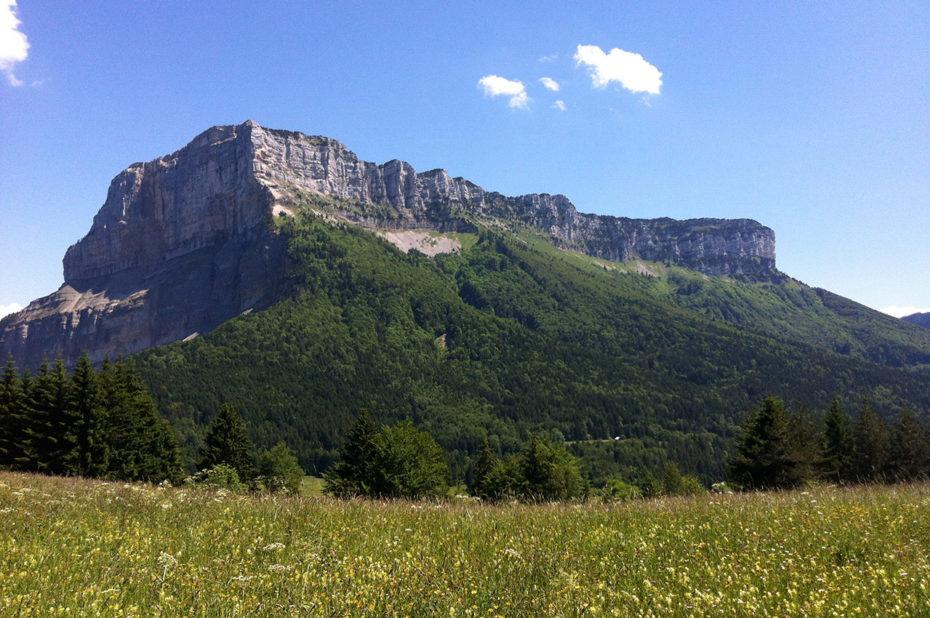 Le Mont Granier, en Chartreuse