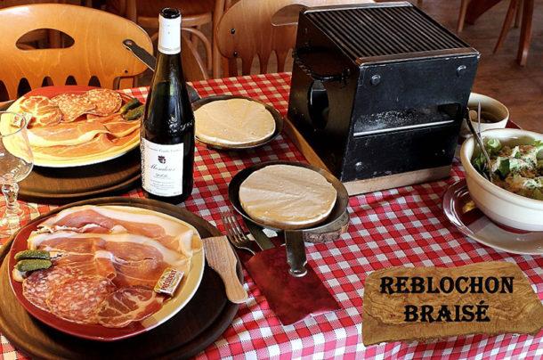 Spécialités du restaurant du col du Granier