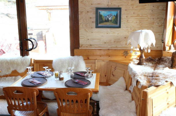 Confort au restaurant du col du Granier