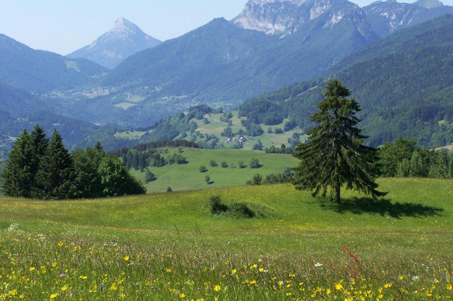 La vallée d'Entremont
