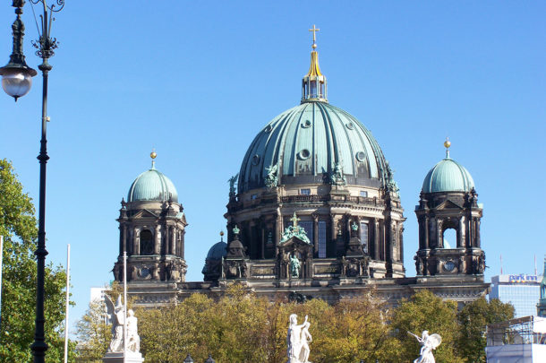 Berliner Dom depuis le Pont du Château