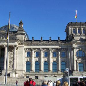 Le Reichstag abrite le Bundestag