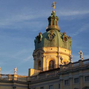 Coucher de soleil sur la château de Sophie-Charlotte