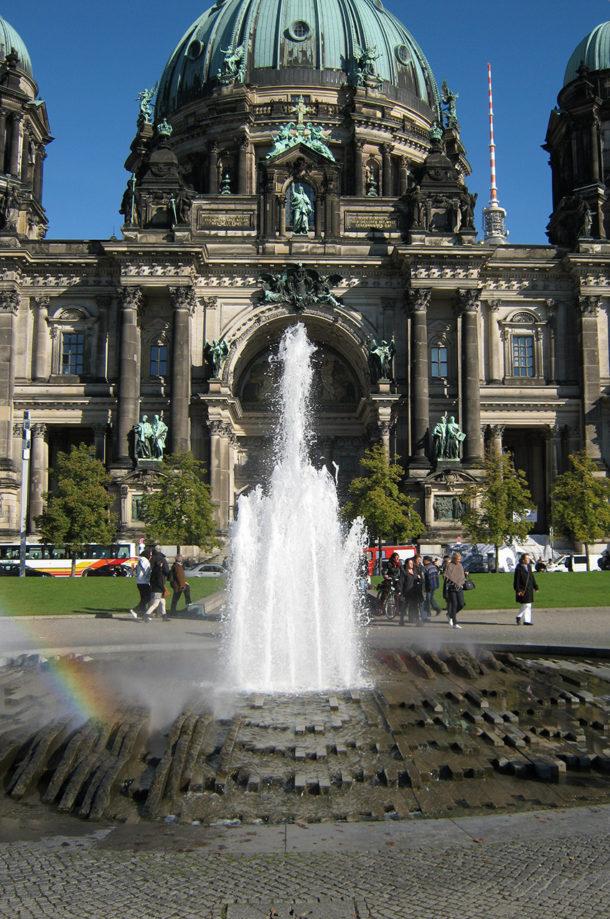 La fontaine devant le Berliner Dom