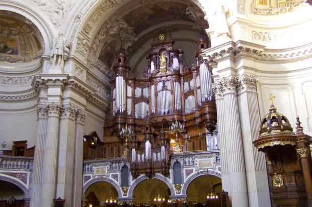 L'orgue magnifique du Berliner Dom
