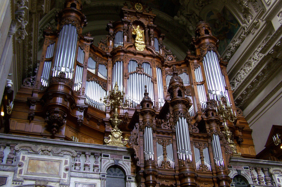 L'orgue grandiose de la cathédrale de Berlin