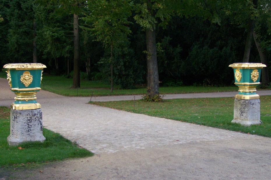 Le parc à l'anglaise du château