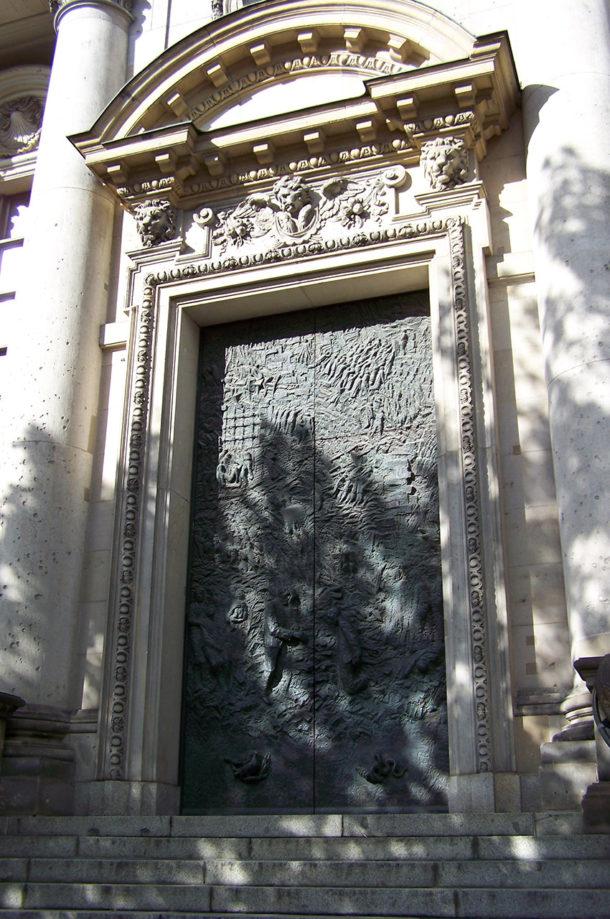 Porte latérale du Berliner Dom