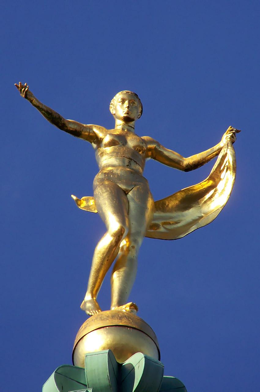 Statue de la fortune