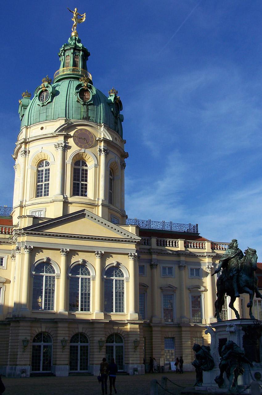 Visite du château de Charlottenburg