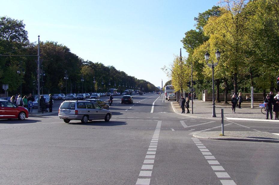 Avenue du 17 juin à Berlin