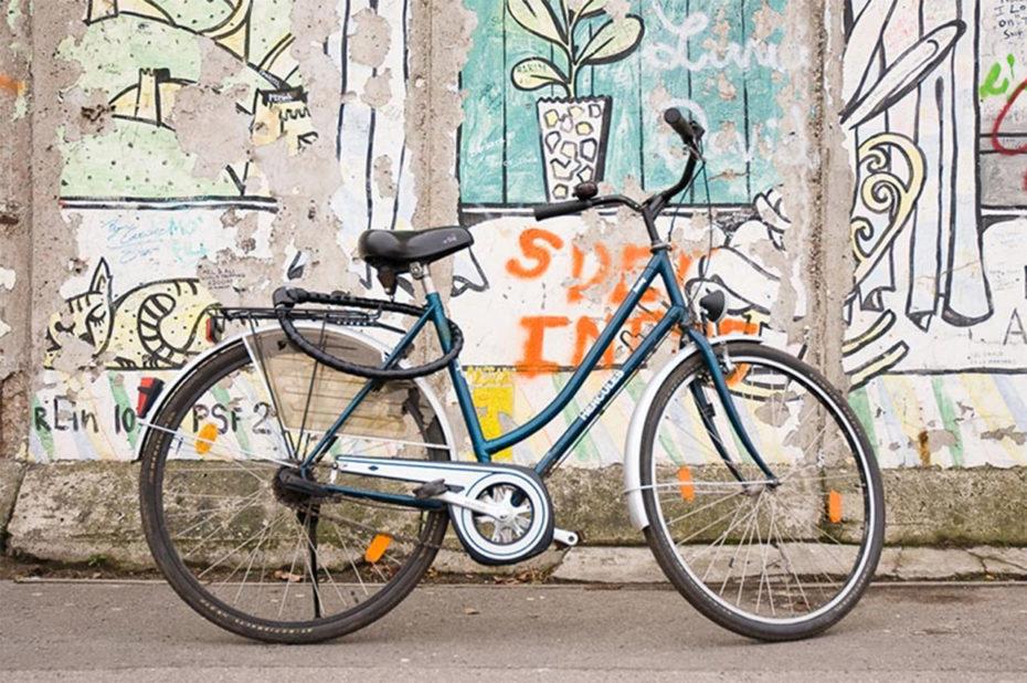 Balade à vélo le long du Mur de Berlin