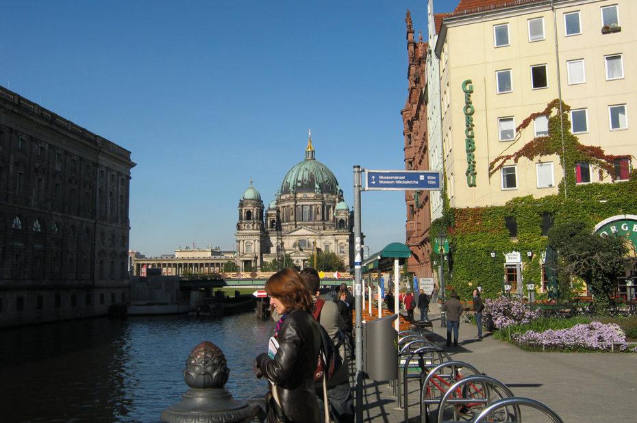 Le Berliner Dom depuis la Museuminsel