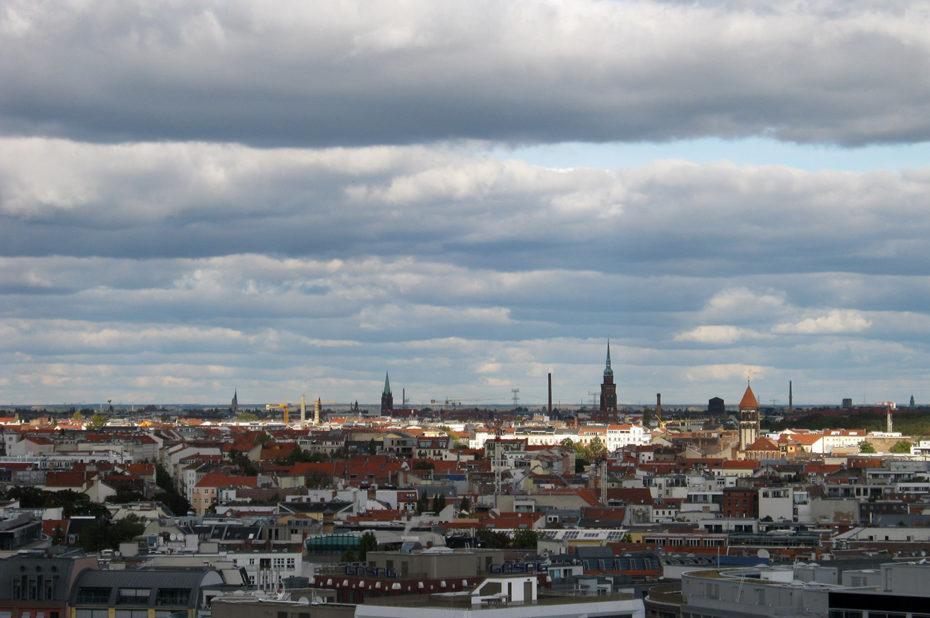 Berlin sous les nuages