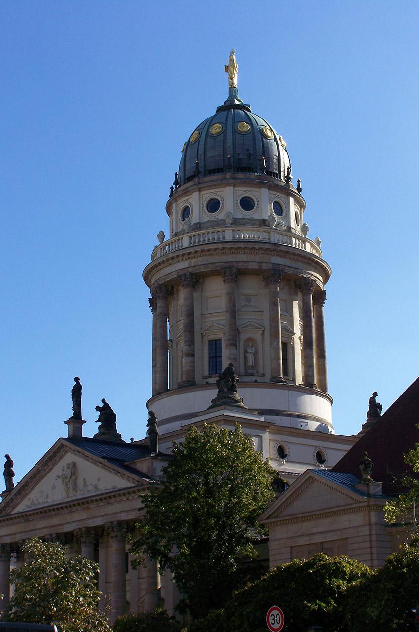 La cathédrale allemande au Gendarmenmarkt