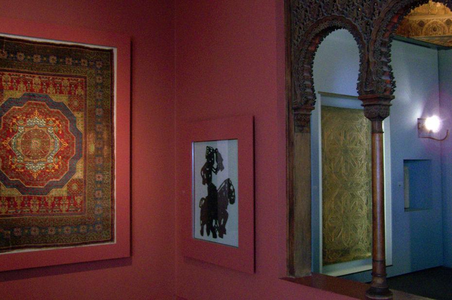 La chambre d'Alep dans le musée d'art islamique