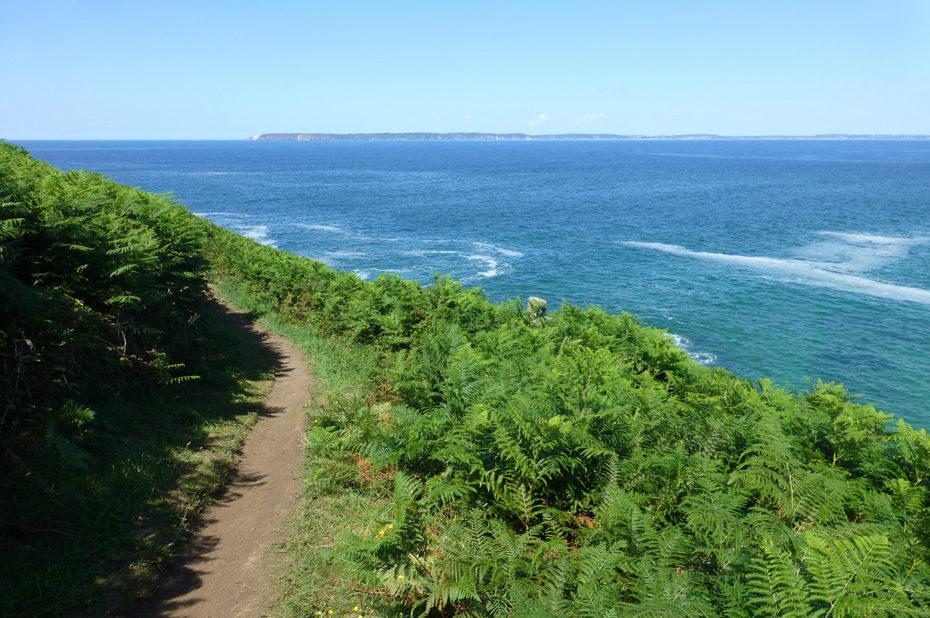 Sentier de randonnée le long du Cap Sizun