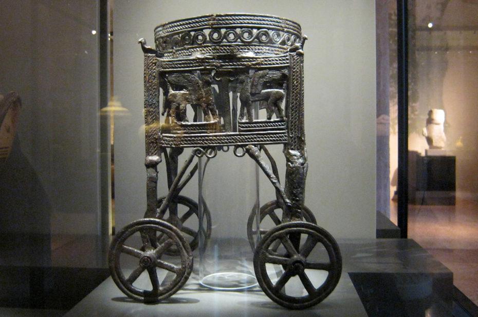 Citerne chypriote de Kition (bronze)
