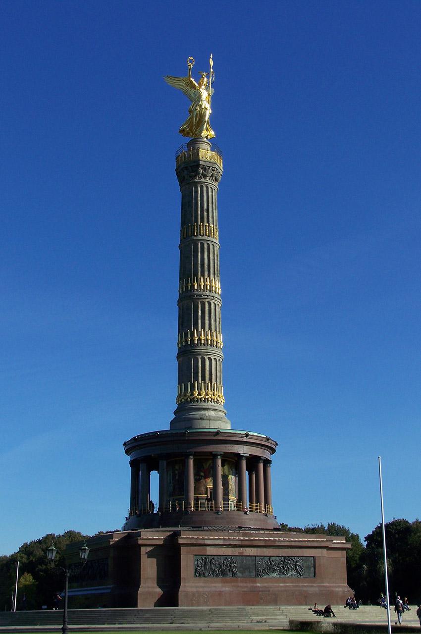 La Colonne de la Victoire à Tiergarten