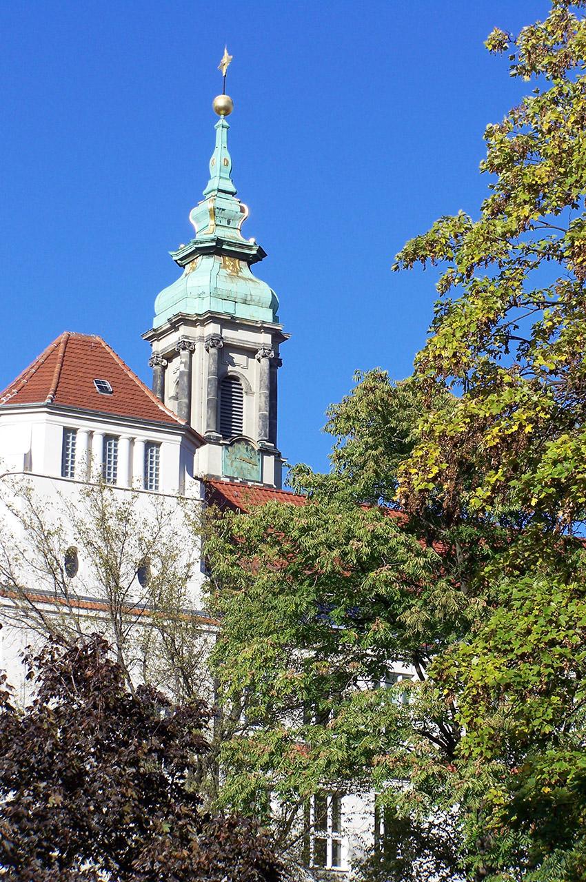 L'église Sainte-Sophie, de style baroque