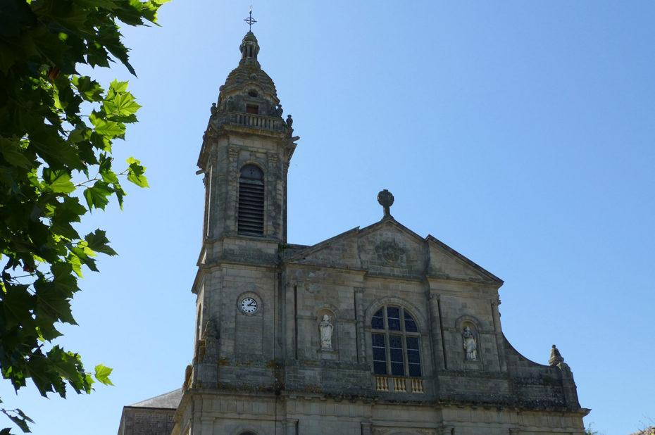 Façade de l'église Saint-Joseph