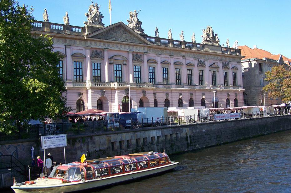 Une des façades du Musée Historique allemand