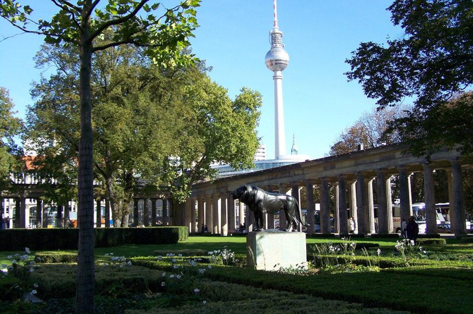 Dans les jardins de la Museuminsel