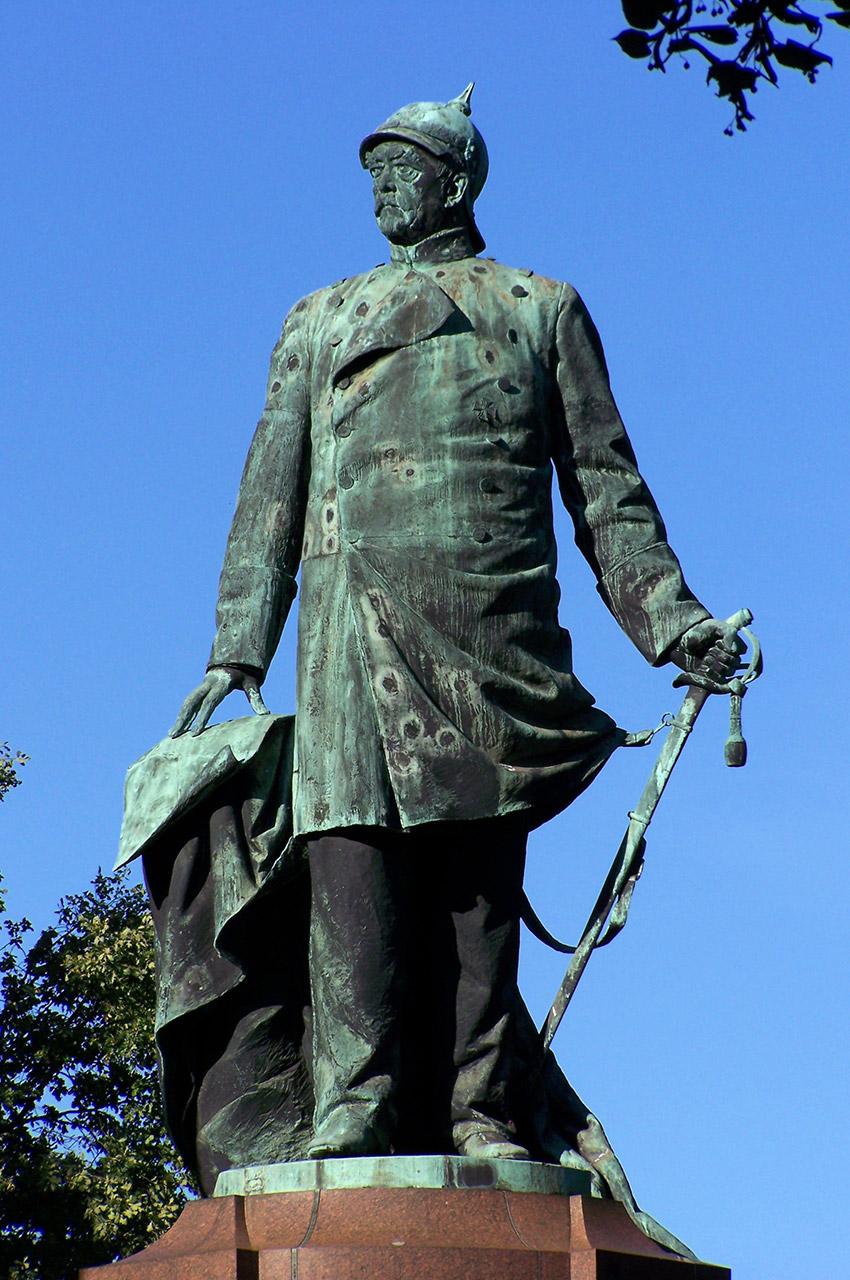 Mémorial Bismarck dans le Tiergarten