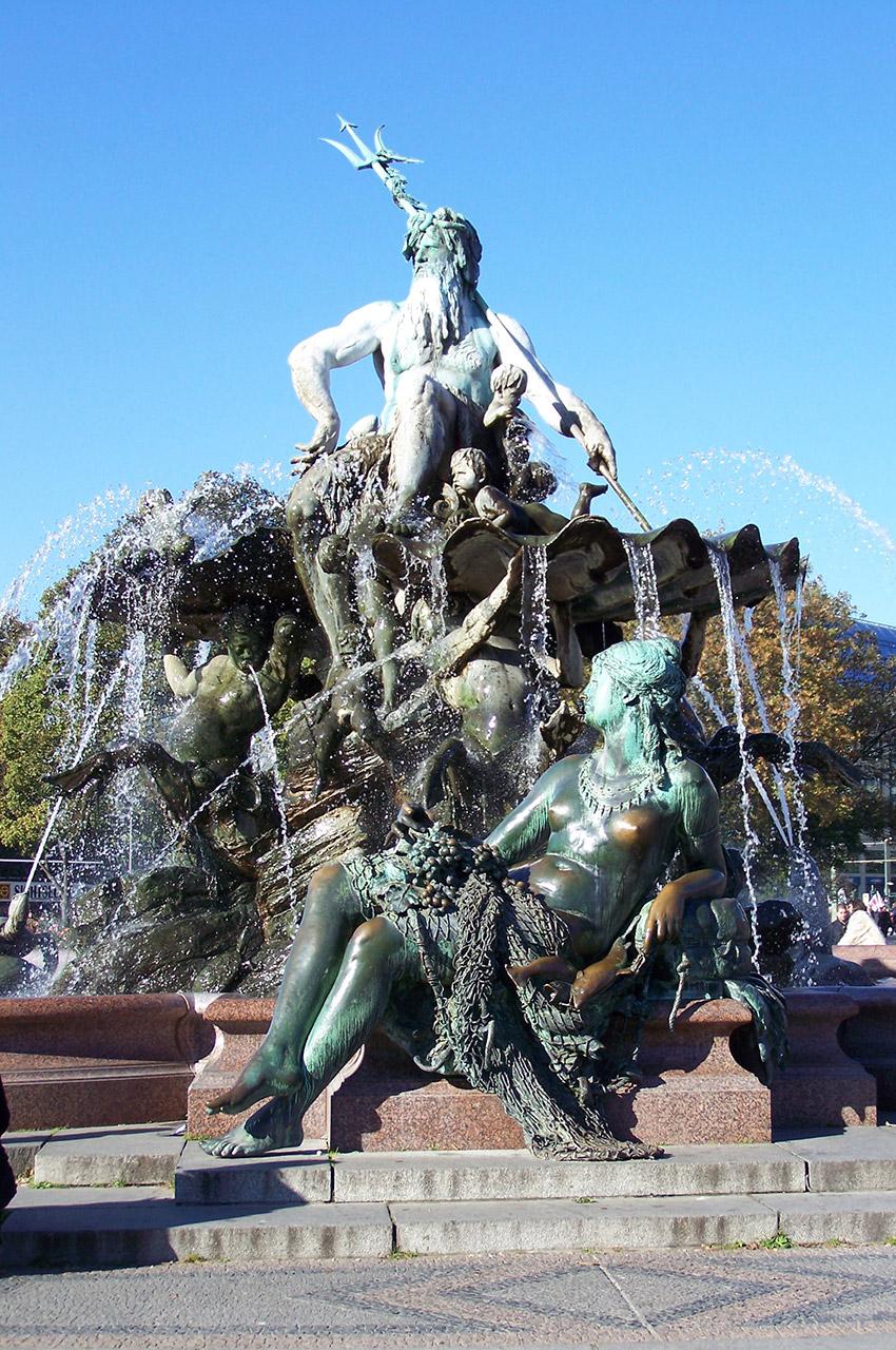 Neptunbrunnen, fontaine de Neptune