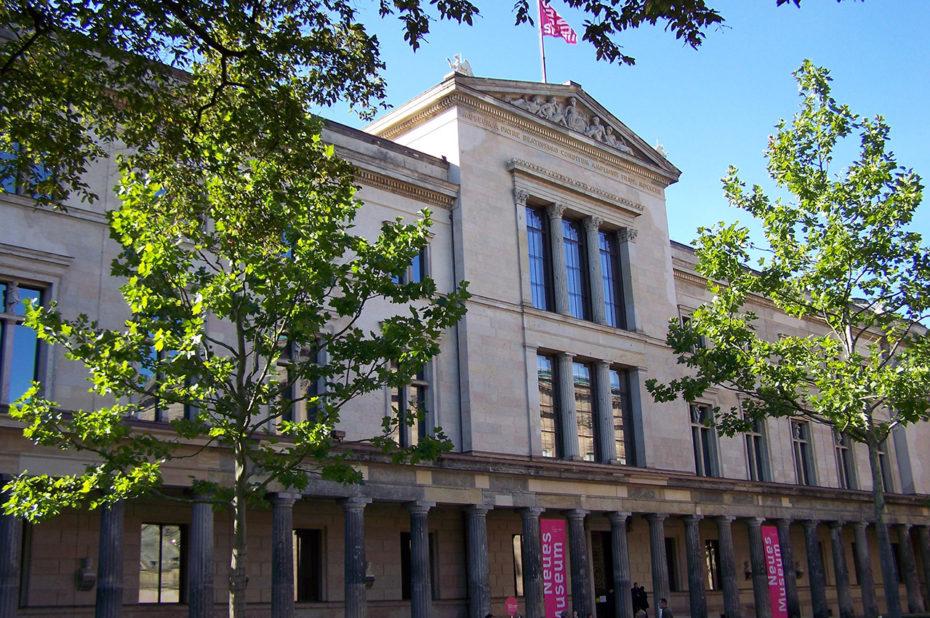 Le Neues Museum (nouveau musée) de Berlin