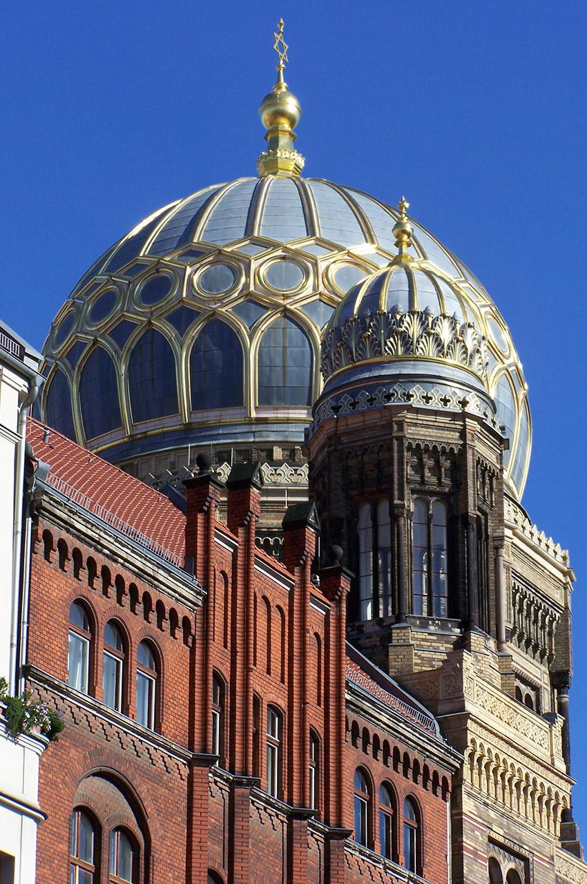 La Nouvelle Synagogue date de 1866