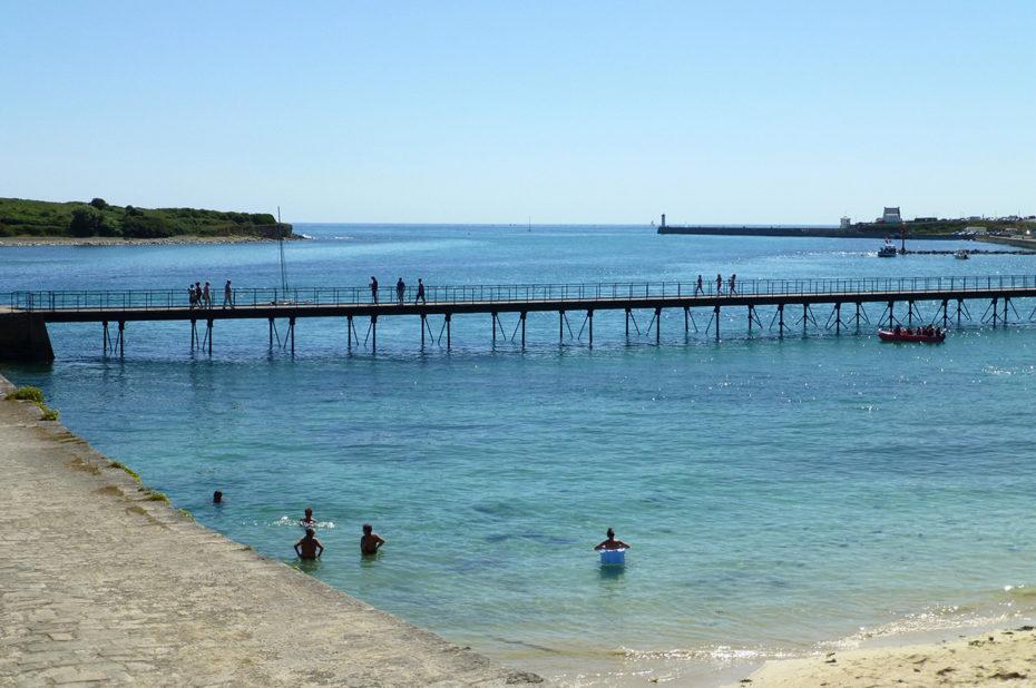 La plage de Trescadec