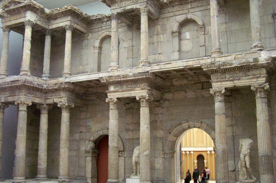 Porte de l'Agora de Milet