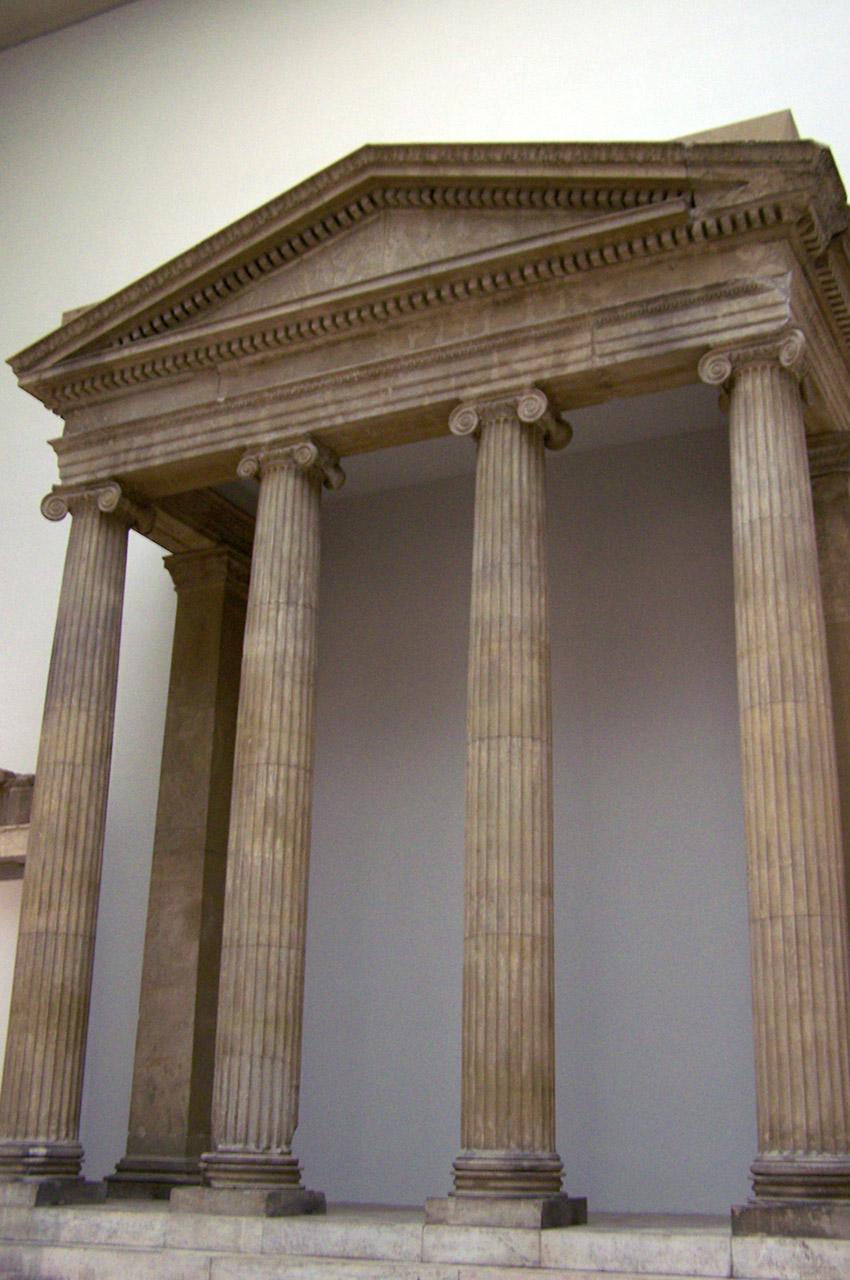 Porte du temple d'Athéna