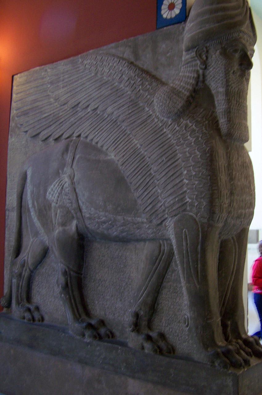 Relief du roi assyrien Assurnasirpal
