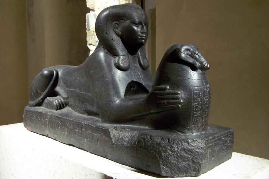 Sphinx de Chépénoupet, divine épouse d'Amon