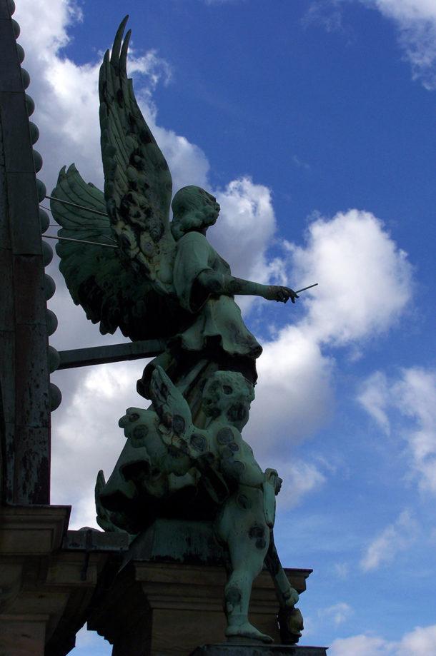 Autre statue d'ange Berliner Dom