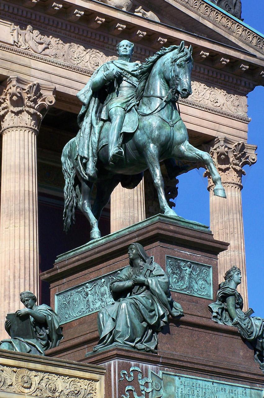 Statue de Frédéric-Guillaume IV de Prusse