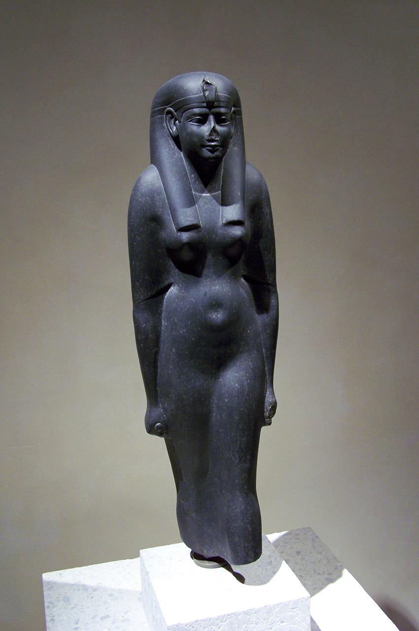 Statue d'une reine ptolémaïque