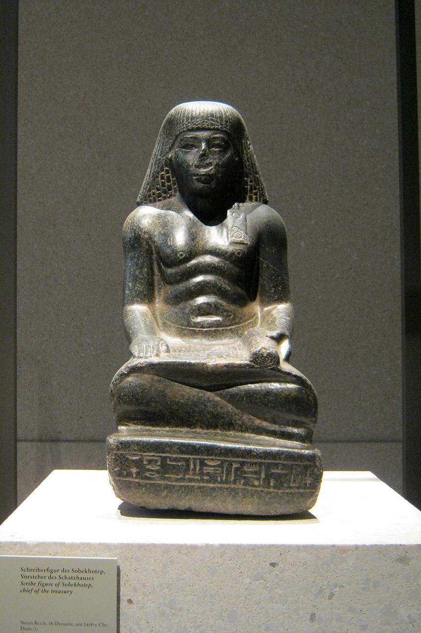 Statue du scribe Sobekhotep