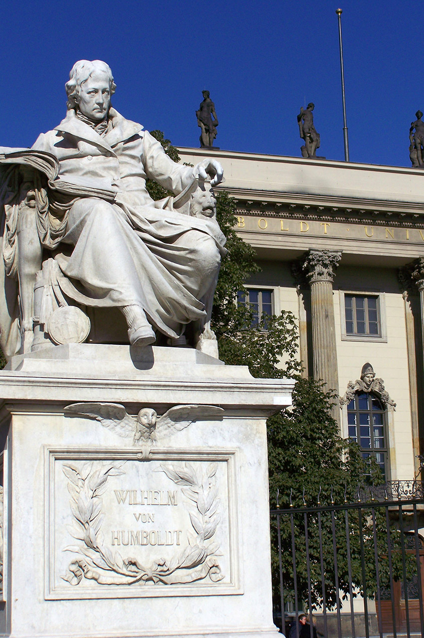 Statue de Wilhelm von Humboldt
