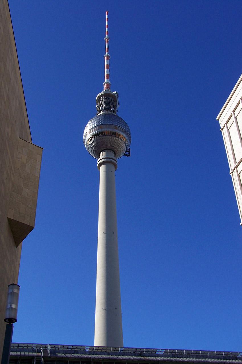La tour de la télévision de Berlin