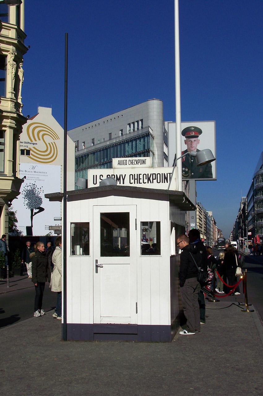 U.S. Army Checkpoint Charlie