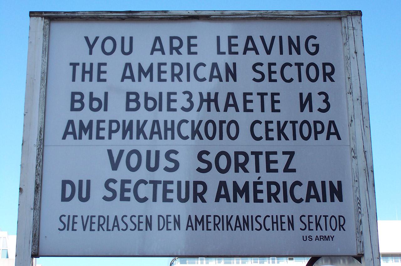 Vous sortez du secteur américain