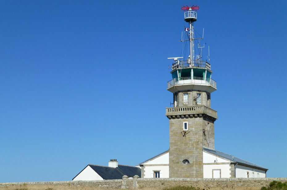 L'ancien phare sert aujourd'hui de sémaphore