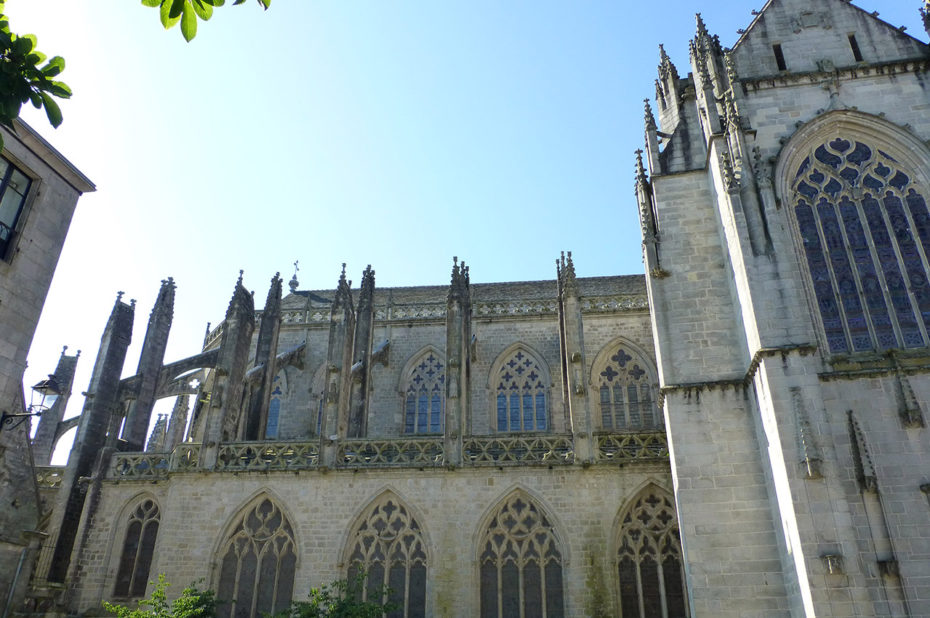 La cathédrale gothique Saint-Corentin